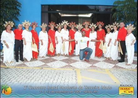 2º Encontro Inaraí Nordeste da Terceira Idade - 11 a 13/09/2009