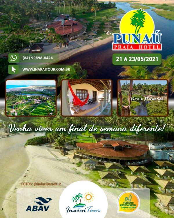 PUNAÚ PRAIA HOTEL – RIO DO FOGO